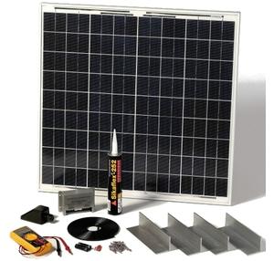 Kit photovoltaïque pour camping car avec fixations 60 Wc Solartechnology STPMH60