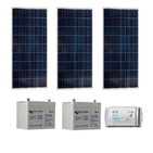 Kit Photovoltaique SITE ISOLE 270Wc Polycristallin - 12V