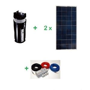 Kit pompage solaire immergé Shurflo 9325 sans batterie - 24V