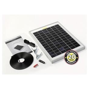 Panneau photovoltaïque monocristallin 5Wc avec câble et connecteurs STP005
