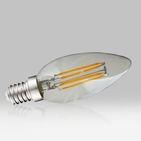 Ampoule LED4W Filaments COB E14 Flamme 2700K