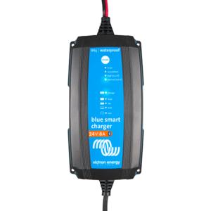 Chargeur de batterie au plomb et lithium-ion Blue Smart IP65 24/8 ET 24/5A + connecteurs CC - VICTRON