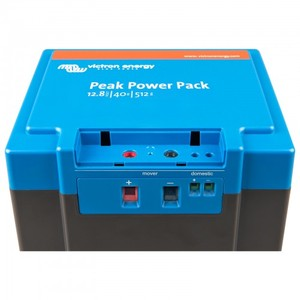 Batterie au lithium Peak Power Pack 12,8V/40Ah 512Wh - VICTRON