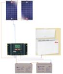 Kit Congelateur solaire Steca 234 litres