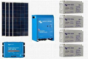 Kit  Photovoltaique complet SITE ISOLE 1320 Wc - 24 Volts