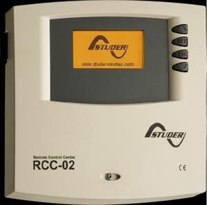 Telecommande Studer RCC 02 et module de programmation