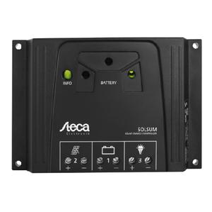 Régulateur solaire STECA Solsum SLS10.10F - 10A 12/24V