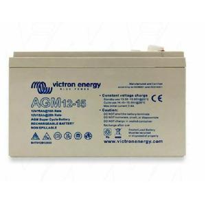 12V/15Ah AGM Super Cycle Batt. (Faston-tab 6.3x0.8mm)