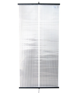 chauffage 500w ultra plat transparent 120X58cm